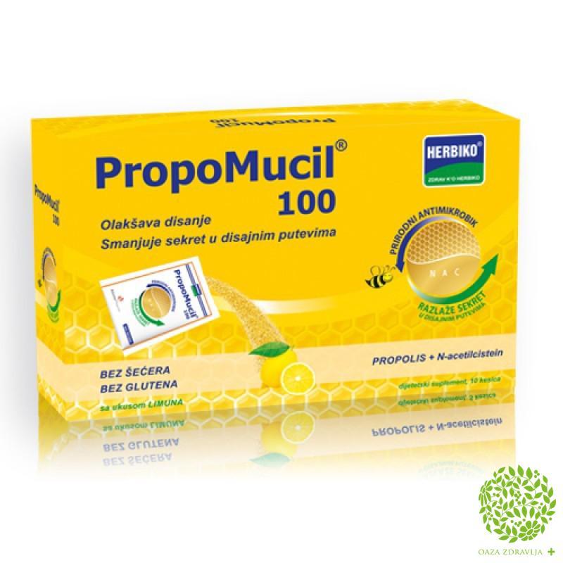PROPOMUCIL 100 granule