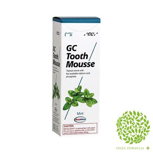 TOOTH MOUSSE MENTA 40g
