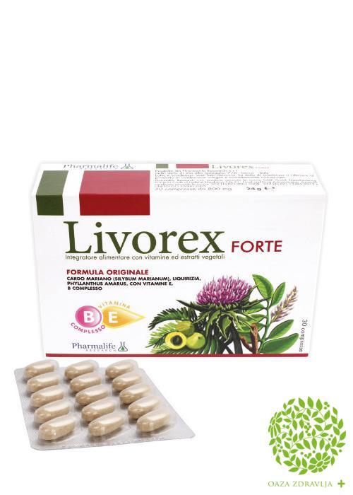 LIVOREX FORTE 30 tableta
