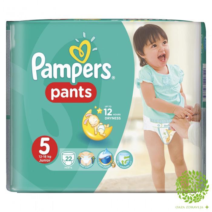 PAMPERS PANTS BR.5 22 kom.