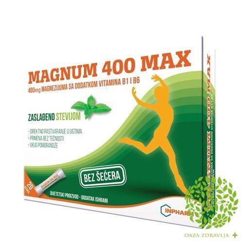 MAGNUM 400 MAX granule 20x2g
