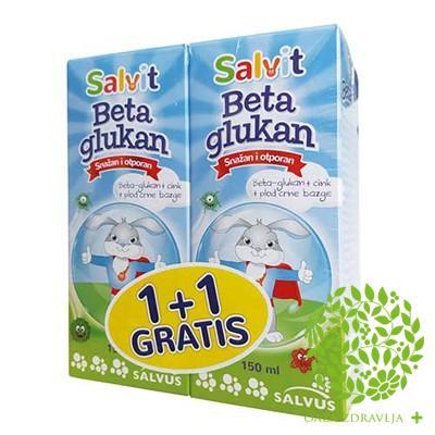 SALVIT BETA GLUKAN 150ml 1+1 GRATIS