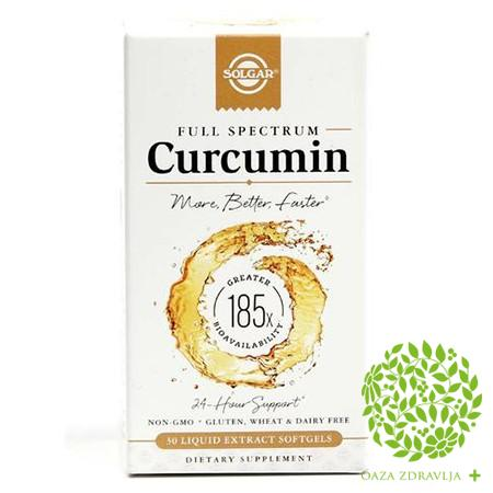 SOLGAR SOLGAR CURCUMIN 30 kapsula