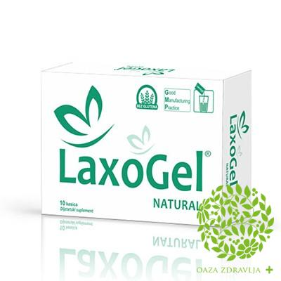 LAXOGEL NATURAL 10 kesica