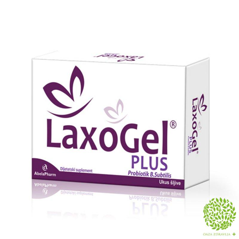 LAXOGEL PLUS 10 kesica
