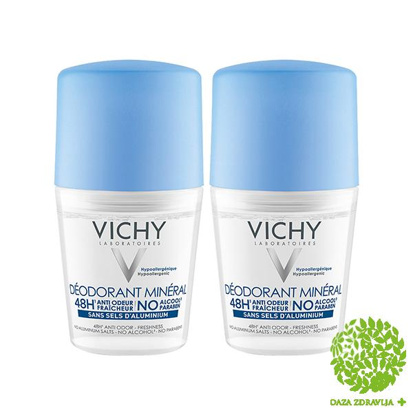 VICHY DEODORANT MINERAL ROLL-ON