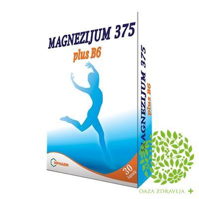 MAGNEZIJUM 375 PLUS B6 4+1 AKCIJA