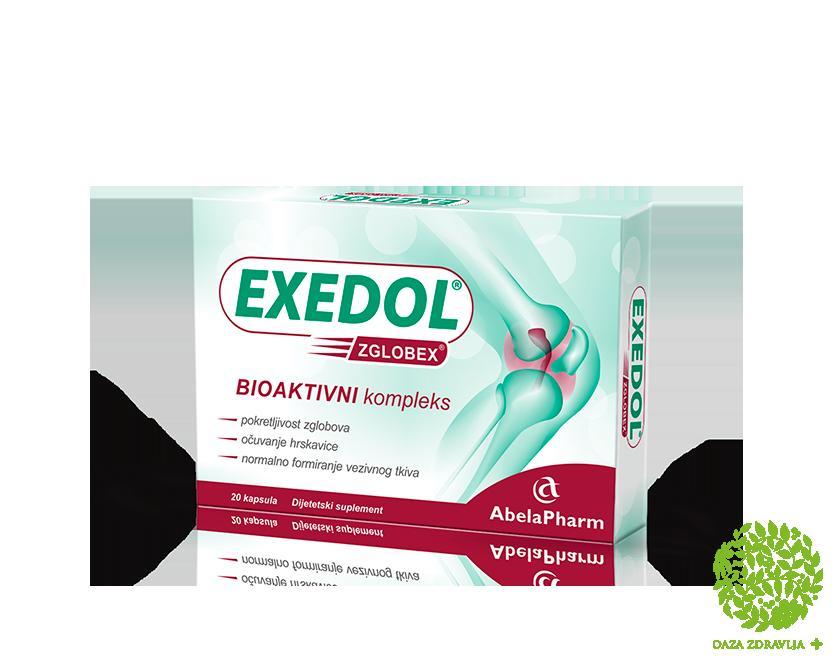 ZGLOBEX EXEDOL 20 kapsula