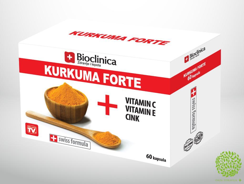 KURKUMA FORTE 60 kapsula