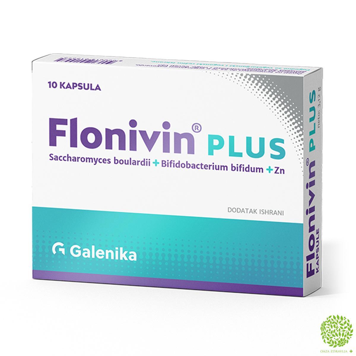 FLONIVIN PLUS 10 kapsula