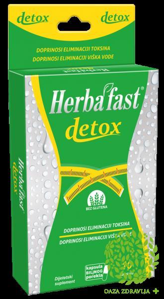 HERBAFAST DETOX 10 kapsula