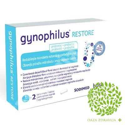 GYNOPHILUS RESTORE VAGINALNE TABLETE 2 KOM.