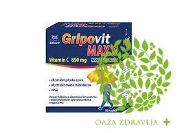GRIPOVIT MAX C 10 KESICA