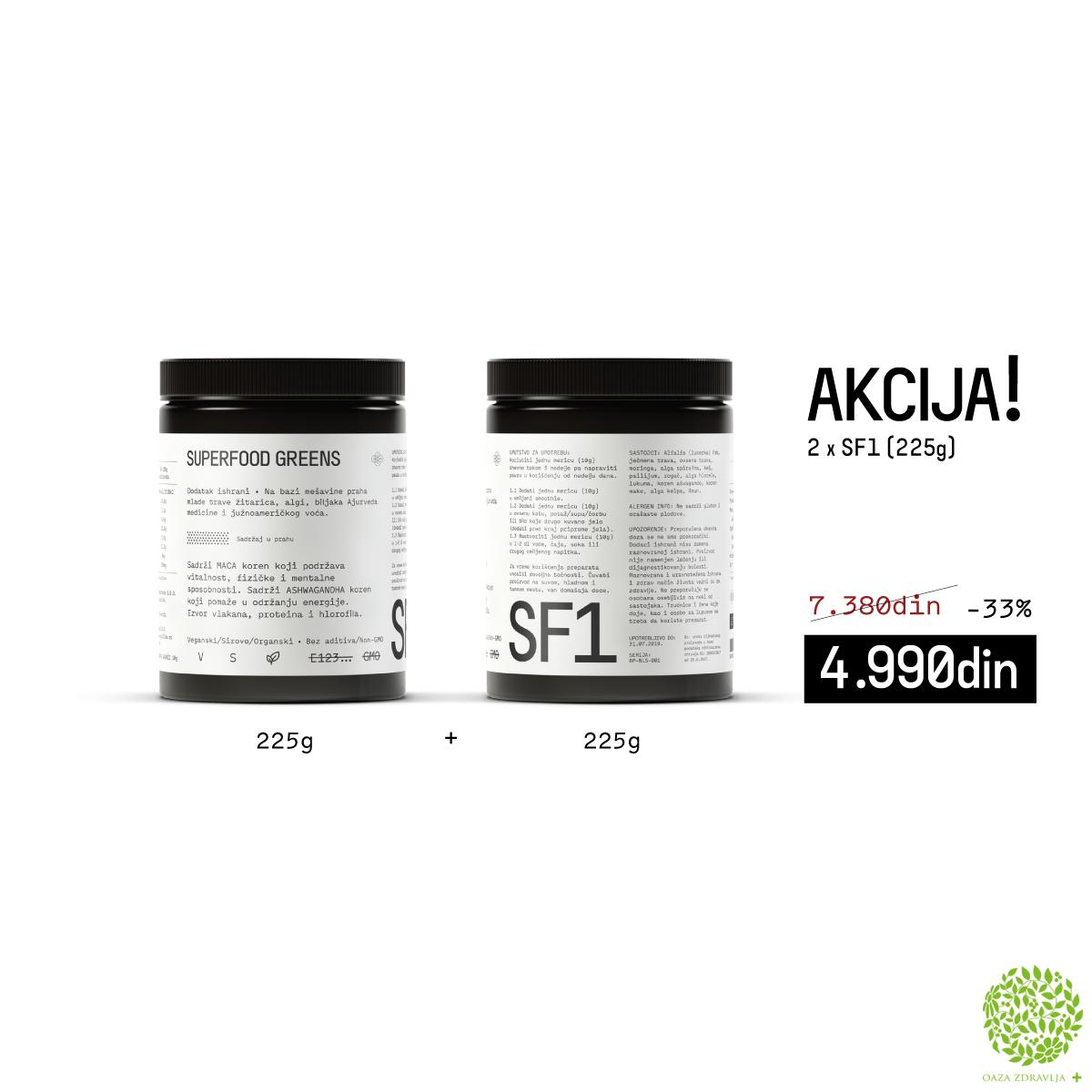 SF1 SUPERFOOD SUPER AKCIJA 2XSF1 225G