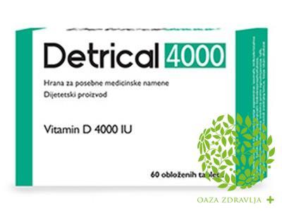 DETRICAL 4000 60 tableta