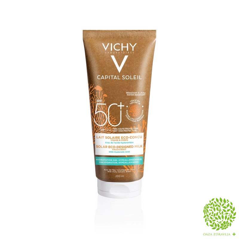 VICHY CAPITAL SOLEIL ECO DESBODY MLEKO 200ML SPF 50